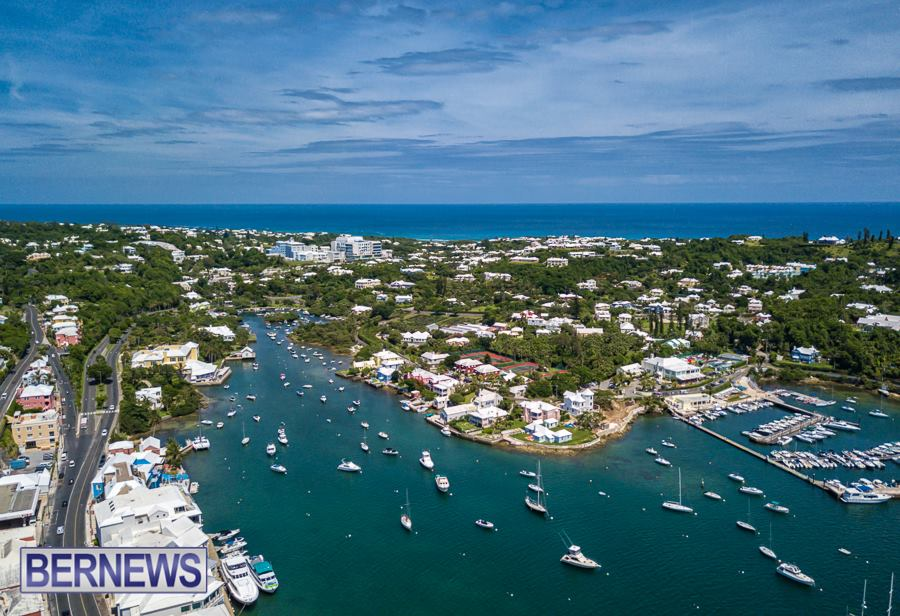 126 Bermuda is one of the most beautiful islands on the planet as you can see from the air