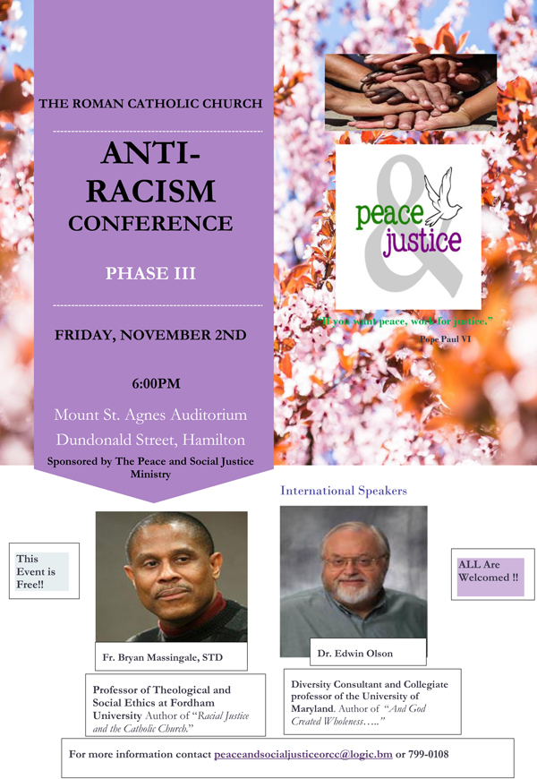 Anti-Racism conference Bermuda October 2018