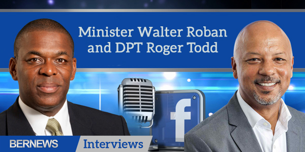 Bernews Interviews TC Minister Walter Roban and DPT Roger Todd