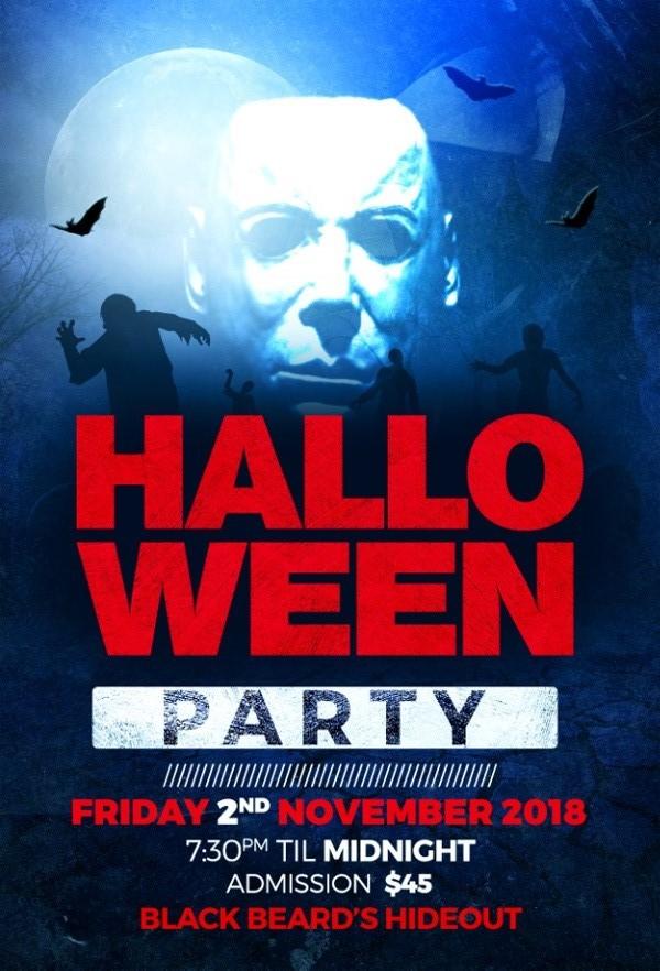 Blackbeard's Hideout Halloween Party Bermuda Oct 2018 (2)