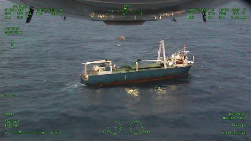 Cargo Ship Alta October 2018