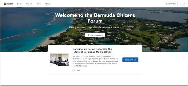 Citzen's Forum Bermuda October 2018