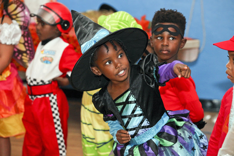 Halloween Parade at St George's Prep Bermuda Oct 31 2018 (11)