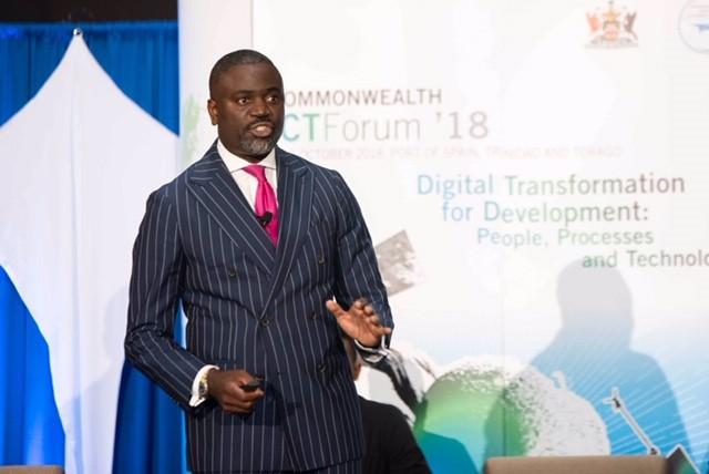 Minister Caines ICT Forum Bermuda Oct 3 2018 (2)