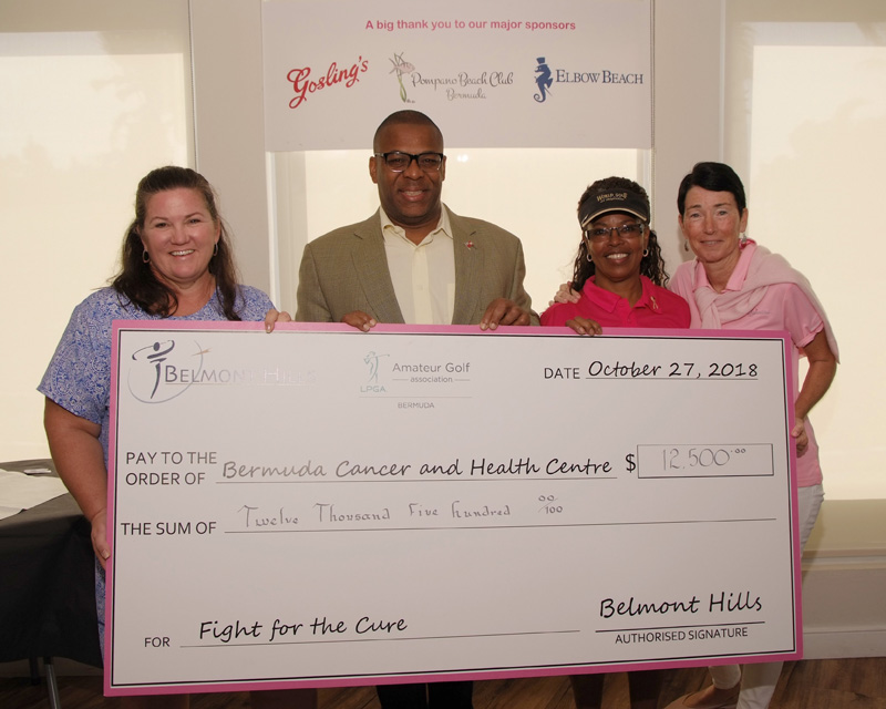 Pink Links Fore the Cure Bermuda Oct 2018