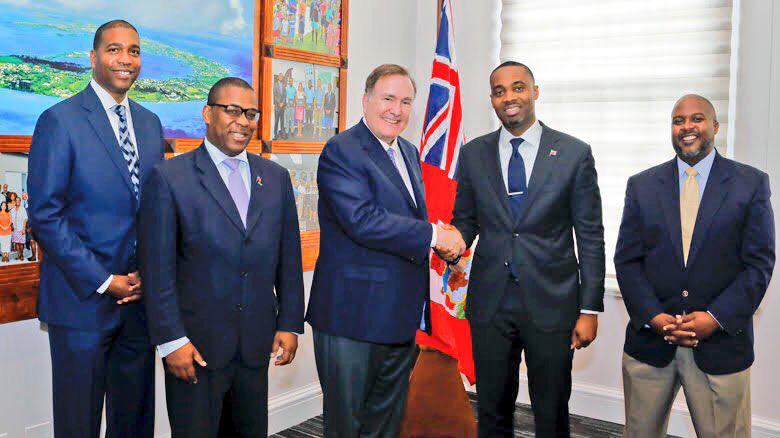 Premier David Burt Bermuda Oct 2018