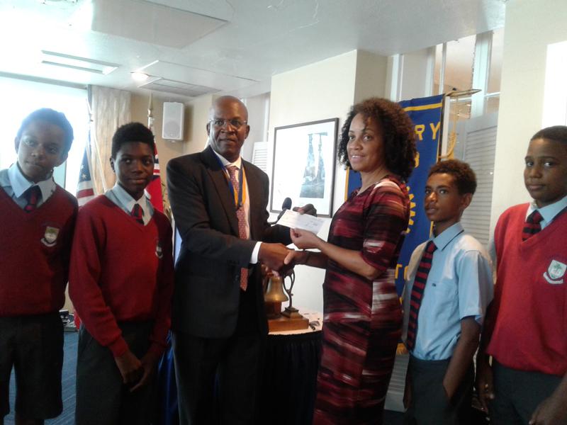 Rotary CBA Bermuda Oct 3 2018