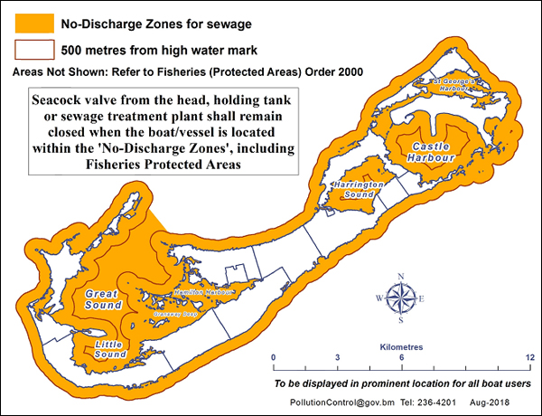 Sewage Management for Boat Owners Bermuda Oct 2018