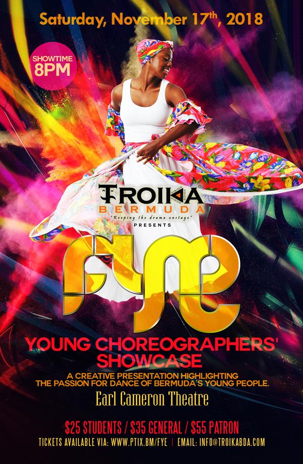 TROIKA FYE Poster Bermuda Oct 29 2018