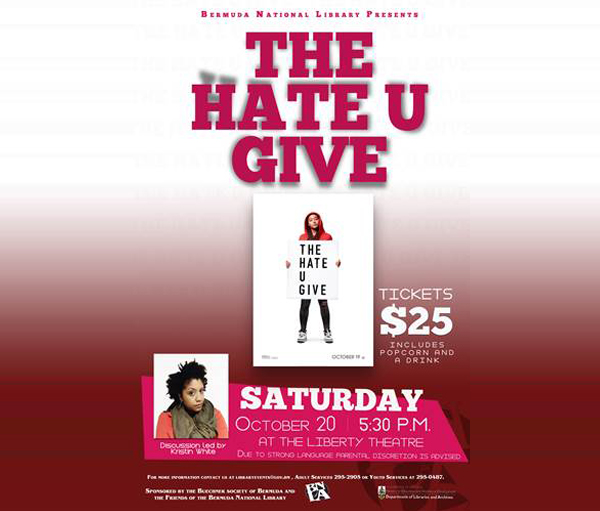 The hate u give Bermuda October 16 2018