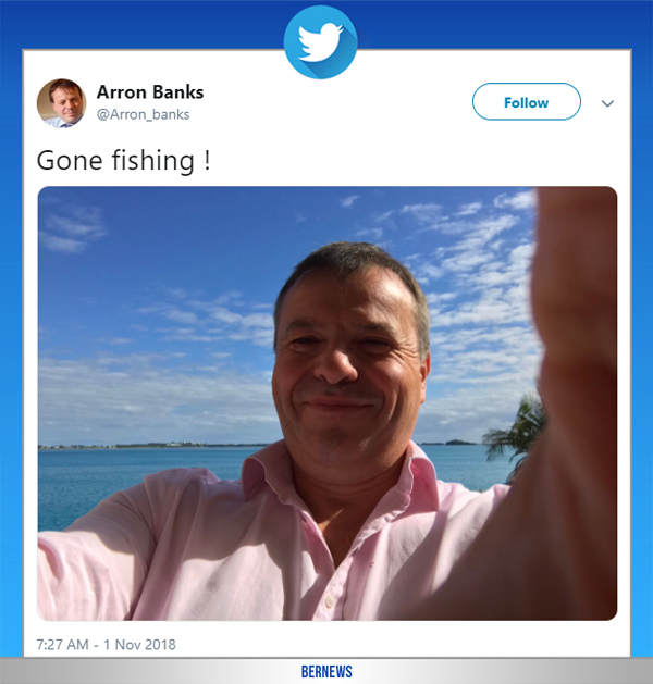 Arron Banks tweet Nov 2018
