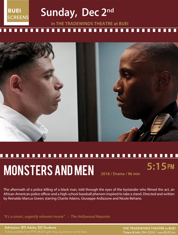 BUEI Monsters & Men Bermuda Nov 2018