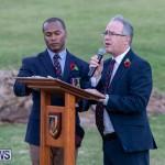Beacon Lighting Ceremony at Government House Bermuda, November 11 2018-8155