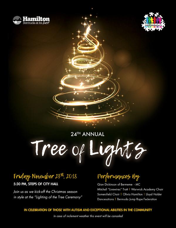 COH Tree of Lights Bermuda Nov 2018