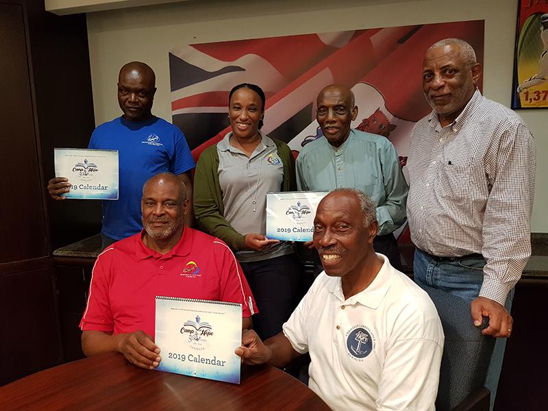 Camp Hope Commemorative Calendar Bermuda Nov 20 2018