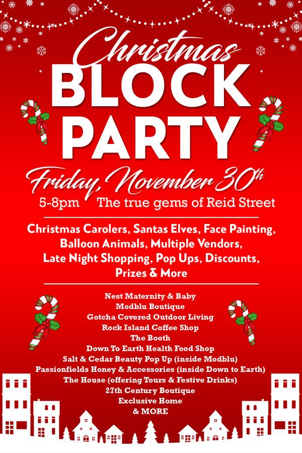 Christmas Block Party Bermuda Nov 2018