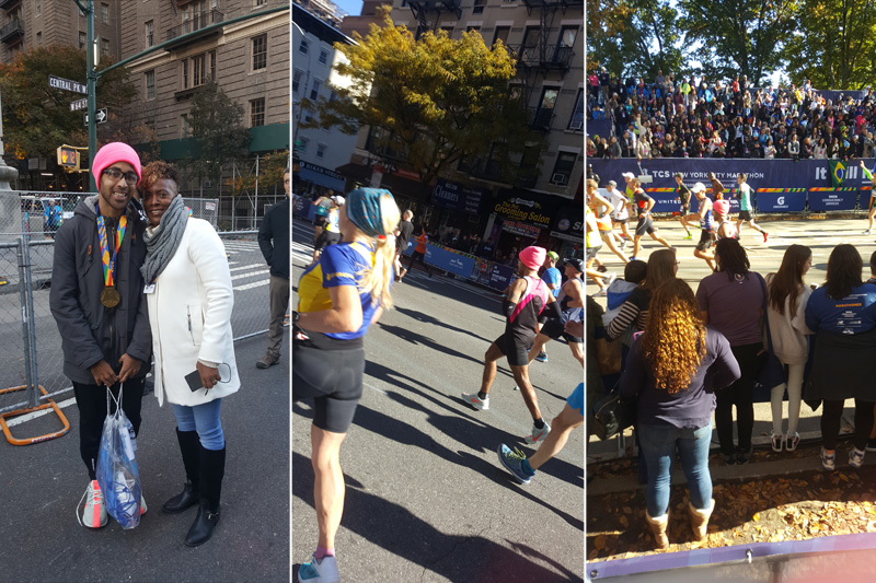 Domico Watson TCS New York Marathon Nov 2018