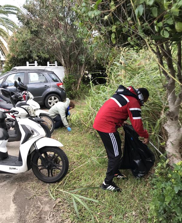 Marsh Fort Hamilton Clean Up Bermuda Nov 2018 (3)