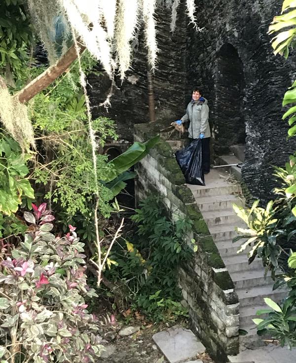 Marsh Fort Hamilton Clean Up Bermuda Nov 2018 (4)