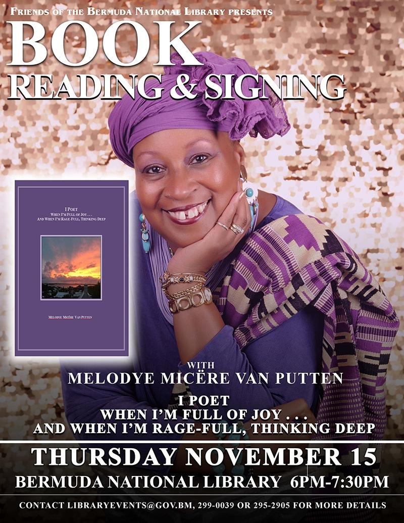 Melodye VanPutten Bermuda Nov 14 2018