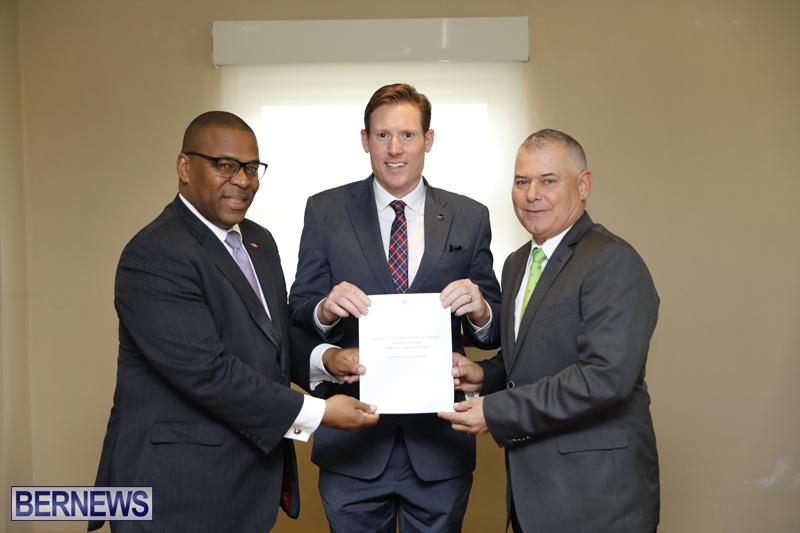 Minister Walter Roban press conference Bermuda Nov 14 2018 (2)