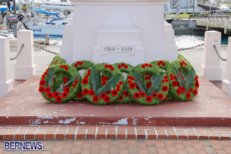 RAA wreath laying service Bermuda November 4 2018 (11)