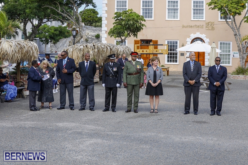 RAA wreath laying service Bermuda November 4 2018 (2)