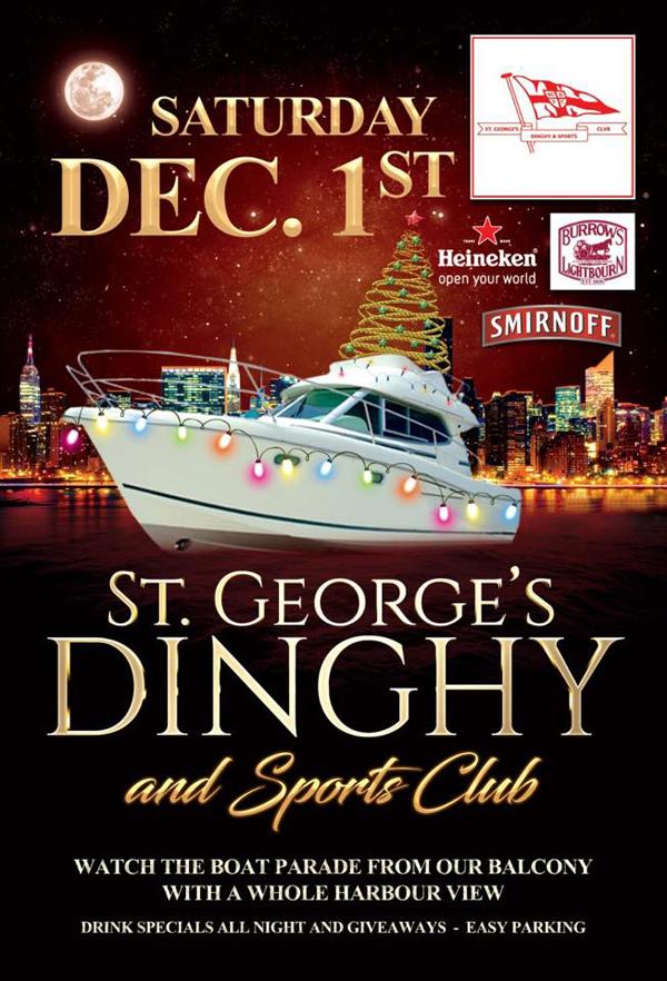 St. George's Dinghy Bermuda Dec 2018