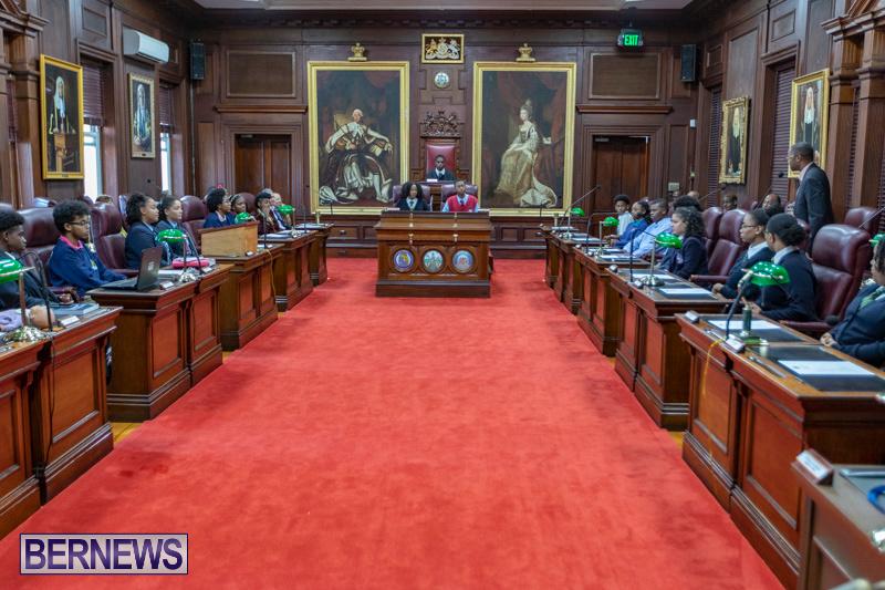 Youth Parliament Reconvening Bermuda, November 7 2018-5891