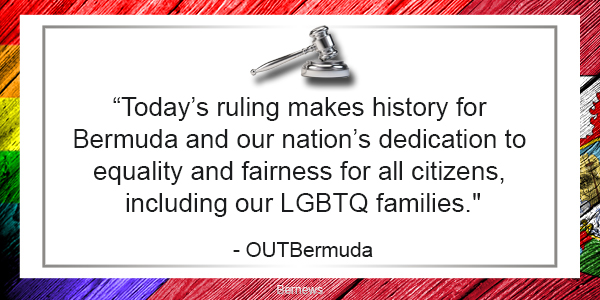 rainbow bermuda gavel flag TC Nov 23 2018