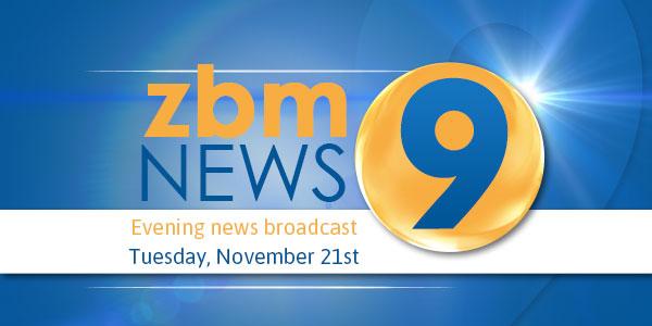 zbm 9 news Bermuda November 21 2017 TC