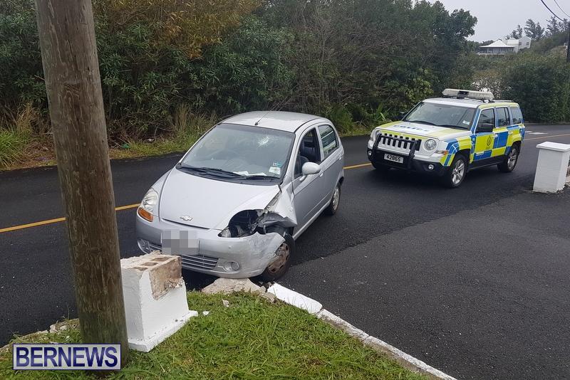 Car Collision Cobbs Hill Road Bermuda, December 22 2018 (3)
