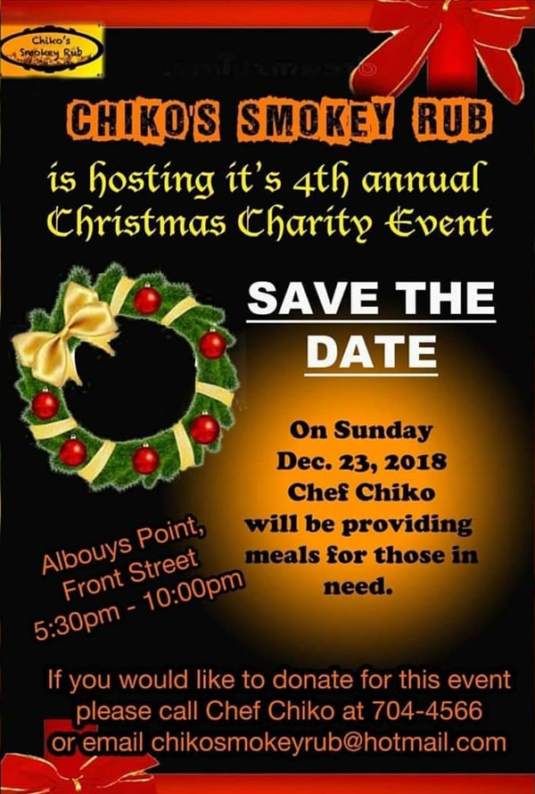 Chiko's Smokey Rub Christmas Charity Event Bermuda Dec 2018 (2)