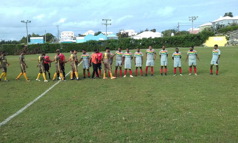 Football Friendship Trophy Bermuda Dec 2018