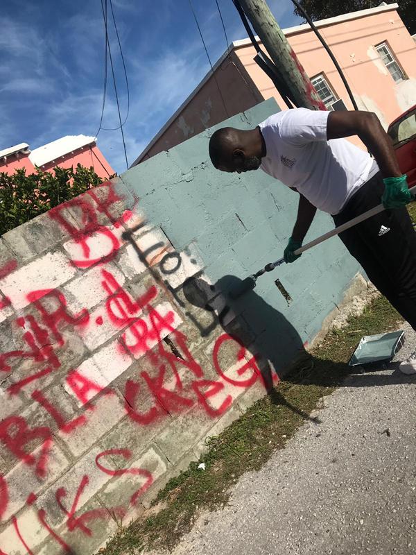 North Terrace Pembroke Gang Graffiti Bermuda Dec 2018 (4)