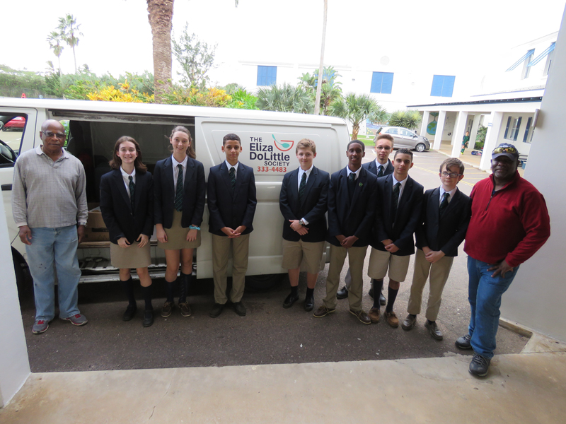Somersfield Academy Interact Club Bermuda Dec 2018