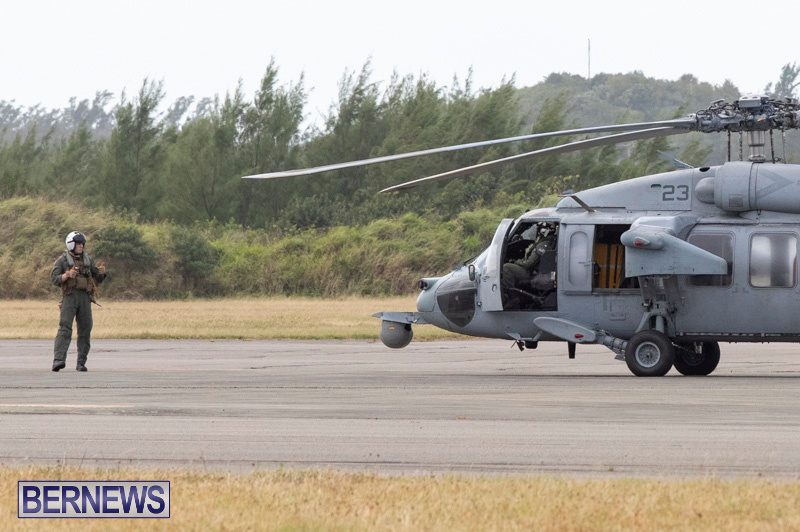 US Navy Marines Helicopter Plane Bermuda, December 21 2018-5292