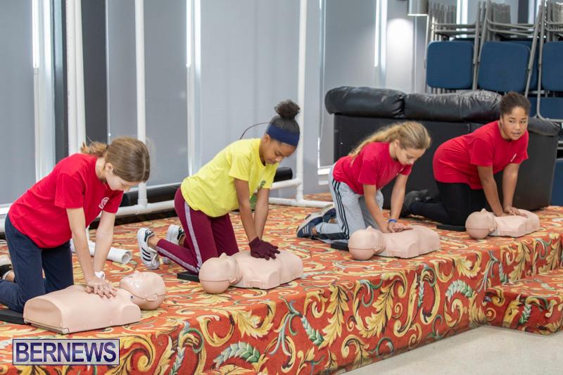 BHS Students Visit Hamilton Fire Station Bermuda, January 31 2019-6315