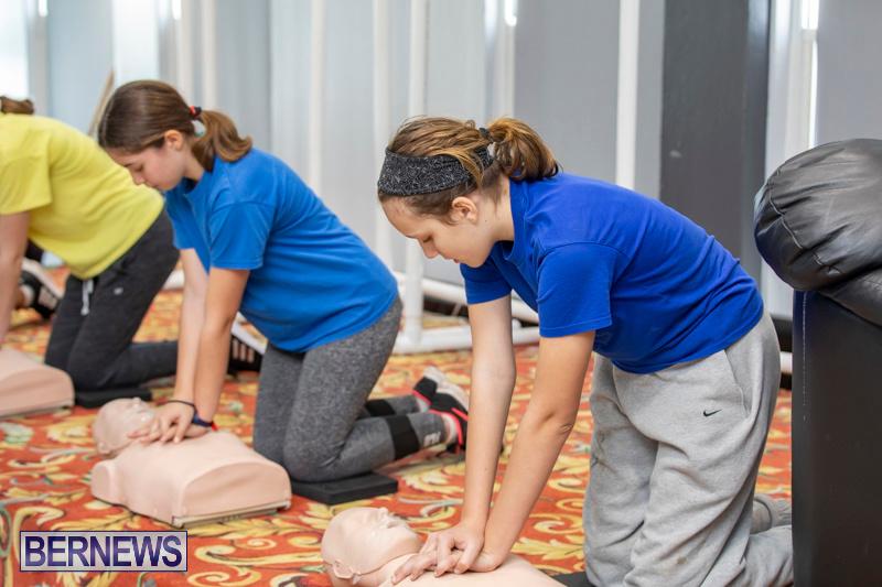 BHS Students Visit Hamilton Fire Station Bermuda, January 31 2019-6317