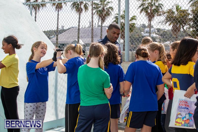 BHS Students Visit Hamilton Fire Station Bermuda, January 31 2019-6322b