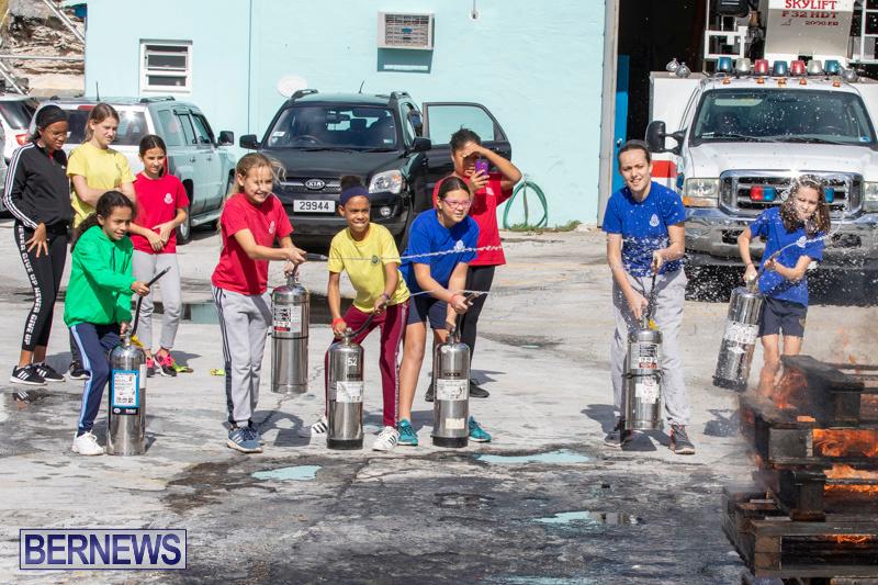 BHS Students Visit Hamilton Fire Station Bermuda, January 31 2019-6390