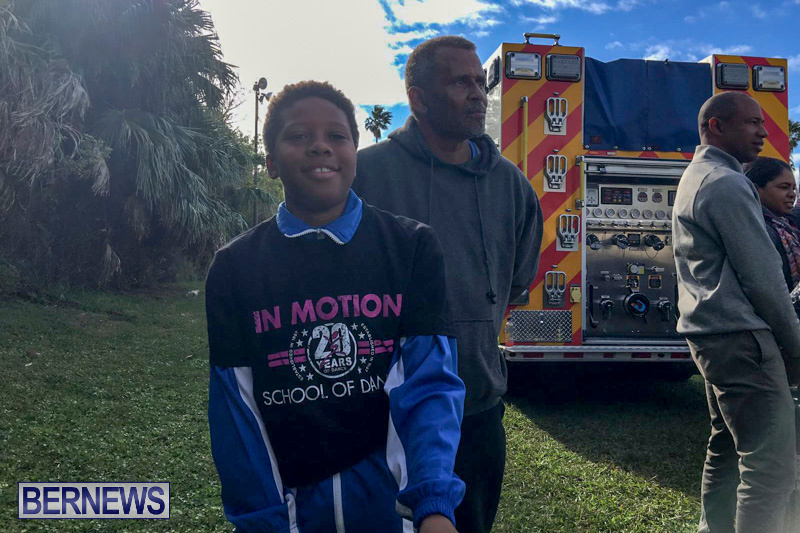Bermuda Fire and Rescue Service demonstration at Elliot Primary School Careers Day, January 24 2019-53-8