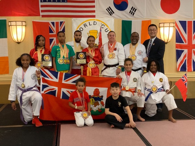 Bermuda Karate Organization in Reston January 2019