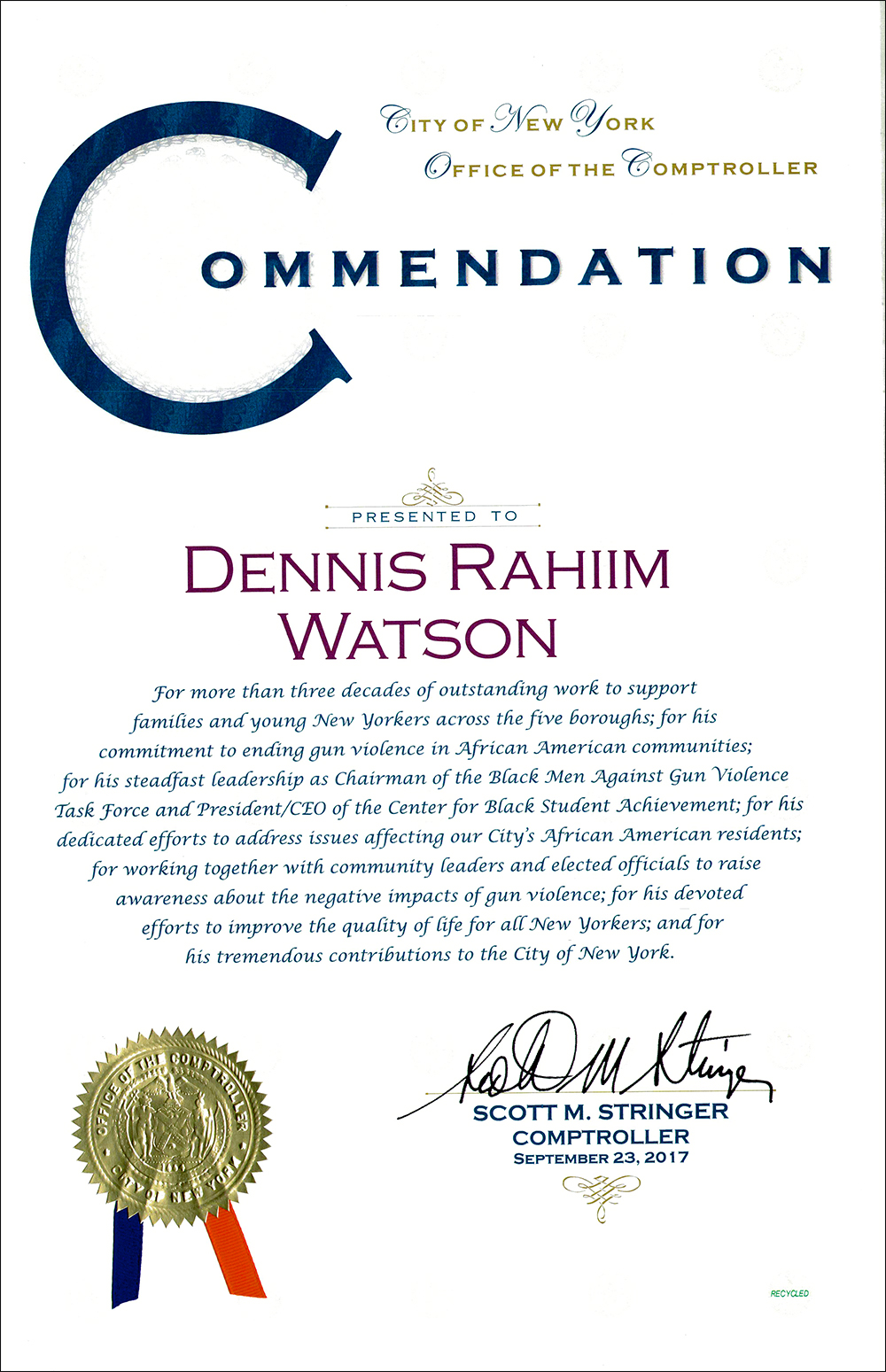 Dennis Rahiim Watson Day Bermuda Jan 7 2019 (1)