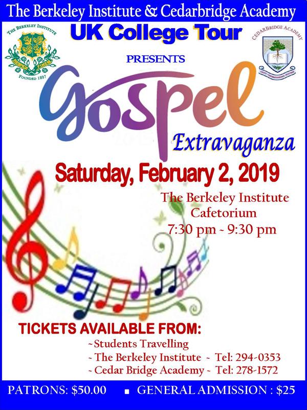 Gospel Extraganza Bermuda February 2019