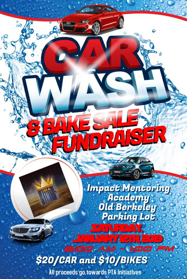 IMA Car Wash & Bake Sale Fundraiser Bermuda Jan 2019