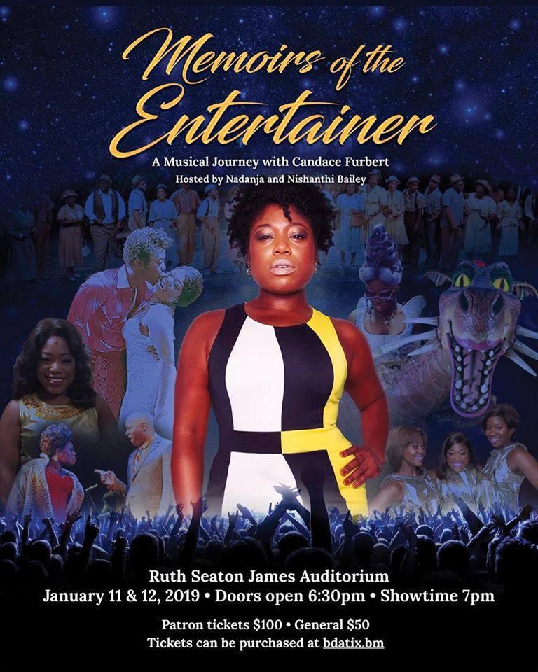 Memoirs of the Entertainer Bermuda January 2019