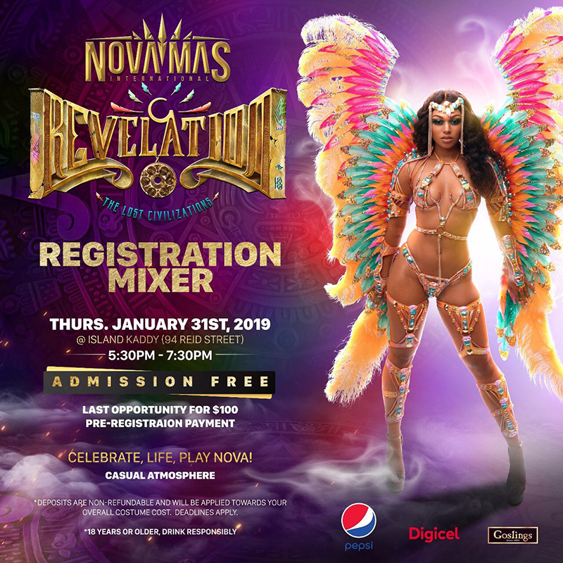 Nova Mas Mixer Bermuda Jan 31 2019