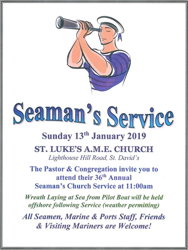 Seamans Service Bermuda Jan 2019 2