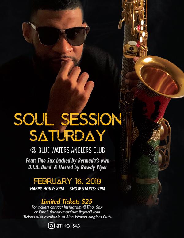 Soul Session Saturday Bermuda February 2019